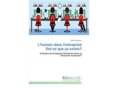 """Livre """"Comment accompagner l'entreprise dans sa démarche humaniste"""""""