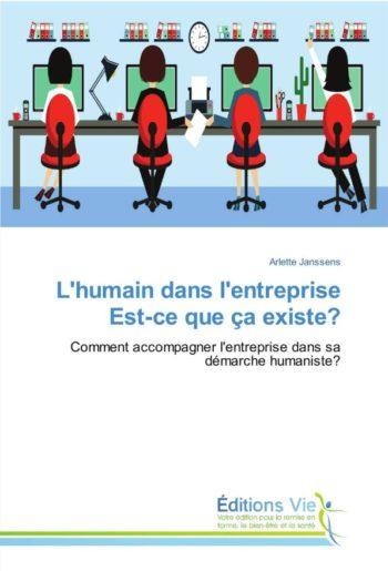Livre Arlette Janssens L'humain dans l'entreprise